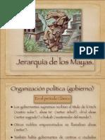 Jerarquía de los mayas y  castigos mayas.  (1)