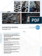 Visiongain Automotive Report Catalogue SP