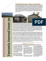 Check out the Tanzania journal For April