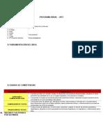 Programa Anual Modelo