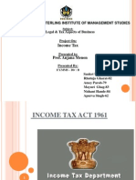 Income Tax Act Final Ppt