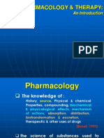 1. Pharmacology & Therapy an Introduction Unpad