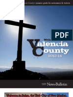 Welcome to Valencia County: 2013-14 Official Visitors Guide