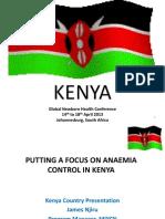 Njiru_putting a Focus on Anaemia Control in Kenya