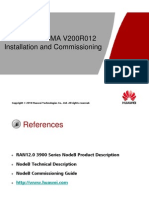 03 - MBTS WCDMA V1R3 Installation & Commissioning ISSUE 1.00