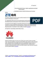 Telecom Uncovered Report 19th April 2013