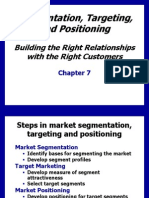 Ch7 Segmentation, Targeting, Positioning