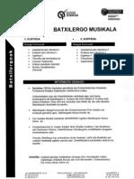 Bachillerato Musical- Batxilergo Musikala