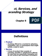 Ch8 Product, Services & Branding Strategy