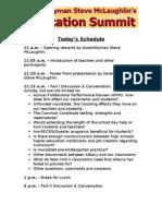 McLaughlin.3.8.13.Education Summit Schedule