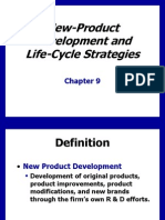 Ch9 Product Development & Life Cycle