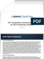 Gain Gft Merger Announcement