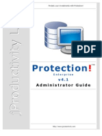 ProtectionEnt Administrator Guide