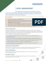 Servic Level Management