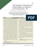 Artigo9- Levantamento Das Parasitoses Intestinais Em - 61