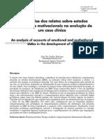 Uma análise dos relatos sobre estados emocionais e motivacionais na evolução de um caso clínico