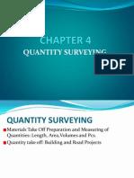 4 Quantity Surveying