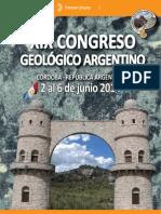 XIX_CGA_1ra_Circular Congreso Geológico argentino