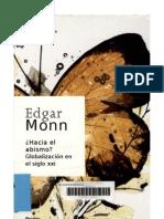 Hacia El Abismo - Edgar Morin