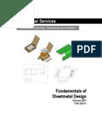 PTC Pro ENGINEER 2001 Fundamentals of Sheetmetal Design WW