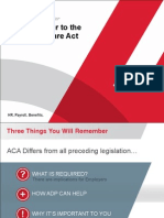 ADPs Answer to ACA
