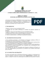 Edital Bolsas Monitoria de Projetos 2013