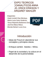 Expo Teoricos Psicoanaliticos Anna Freud, Erick Erikson Real (1)