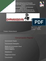 Comunicación Popular_ Teoría de la Comunicación