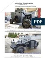 Surviving German Armoured Vehicles
