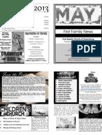 FBC Newsletter 05 2013