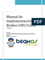 Manual de Implementacion de Beakos GNU2