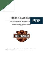 Harley-Davidson, Inc. Financial Analysis