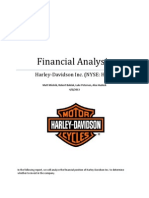 Harley-Davidson, Inc. Financial Analysis
