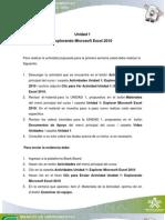 Clic Para Ver Actividad Unidad 1. Explorando Microsoft Excel 2010