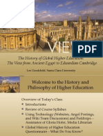 EDUC 386 History