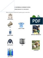 Worksheets Recycling
