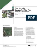 Southgate  Integrated SIte Plan Final April 1, 2013