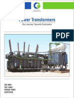Luckyindia CGL Power Transformer Catalogue