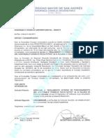 Reglamento Interno Honorable Consejo Facultativo - Fac. de Cs. Sociales - HCU-239-11