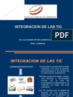 Integracion de las TIC