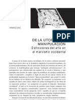 Ariane Díaz - De la útopia a la manipulación