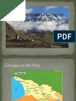 Vowel Syncope in Georgian