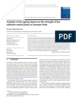 2008Analysis of the Ageing Impact on the Strength of The