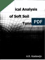 Analisis Numerico de Tuneles en Suelo Suave