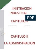 Adm Industrial Cap II