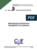 Metodologia de Eficiencia Energetica-Industria