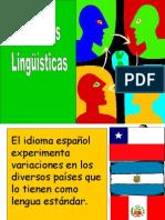 variación linguistica