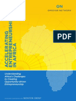 ACCELERATING Entrepreneurship in Africa