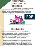 AUDITORIAS EN PREVENCIÓN DE RIESGOS