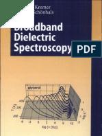 Broadband dielectric spectroscopy By Friedrich Kremer- Andreas Schönhals